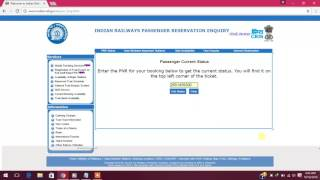 How to check PNR Number Indian Railways