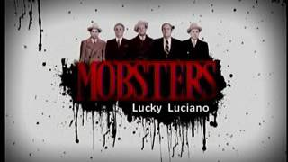 Mobsters - Lucky Luciano