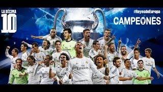 Real Madrid campeón de la Champions 2014 - Resumen