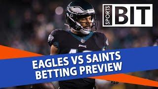 Eagles vs Saints Week 11 NFL Odds Against the Spread   Sports BIT