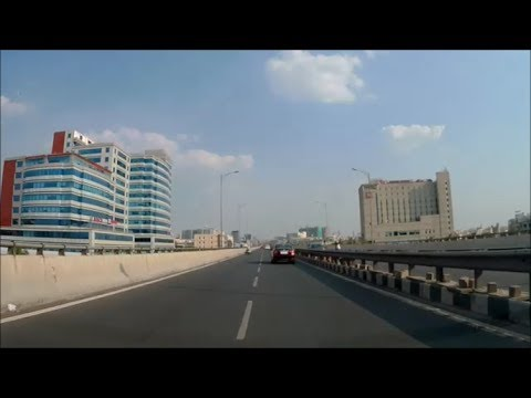 Bangalore City Tour - Electronics City to Silk Board 9 KM Flyover