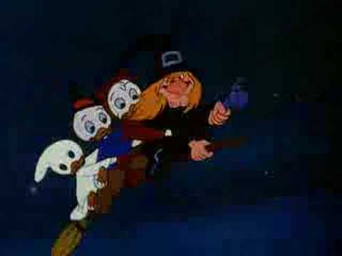 Donald Duck Trick Or Treat 1952 English