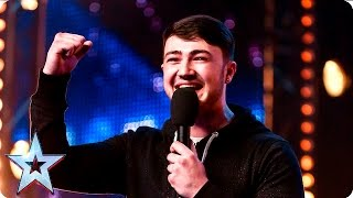 Wayne Woodward is a swinging success | Week 2 Auditions | Britain's Got Talent 2016