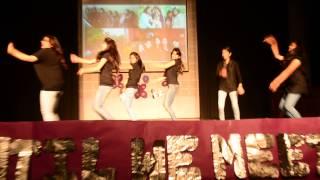 hansraj college commerce farewell group dance