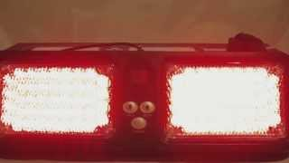 86 LED Visor Strobe Beacon - Red