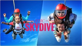Jacqueline Fernandez and ShaanMu go Sky Diving | Sky is the Limit