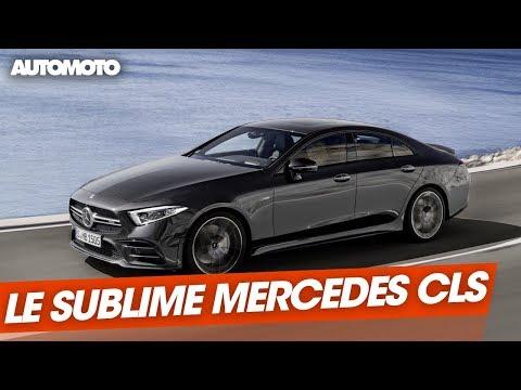 Mercedes CLS le plus beau des coupés berlines