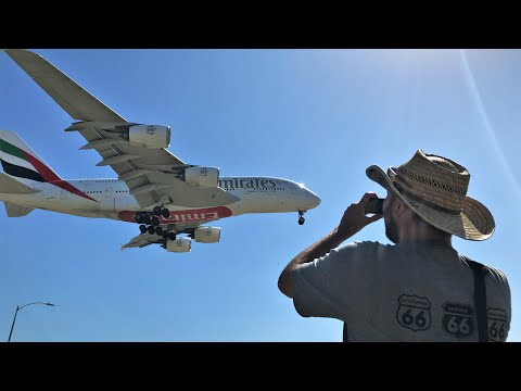 Xxx Mp4 Plane Spotting Los Angeles LAX Full Internationals Heavy Landings Take Offs In N Out Burger 3gp Sex