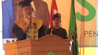 Sambutan Bapak Dr. H. Fauzi (Ketua Yayasan) dan Anggota DPRD Lampung Barat