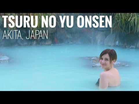 watch THE MOST BEAUTIFUL ONSEN IN JAPAN | Tsuru no Yu
