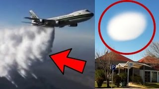 10 Unexplained Mysteries In the Sky Caught On Camera!
