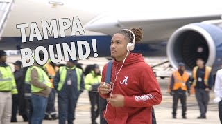 The Crimson Tide heads to Tampa for the National Championship