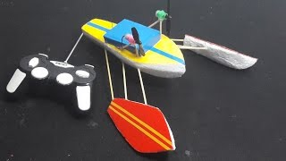 How to make a Airboat RC - Tutorial - DIY RC Boat Rigger
