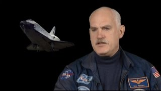 What is the Space Shuttle landing like?