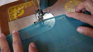Pico Stitching With Simple Sewing Machine | सिलाई मशीन से पीको करना