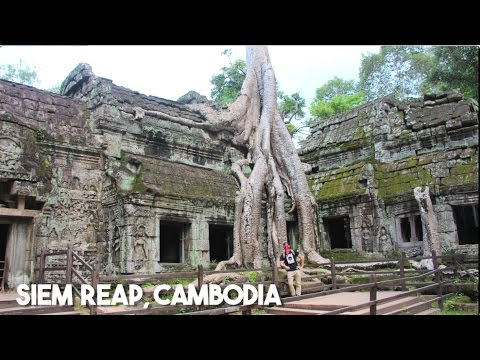 Backpacking in Cambodia Angkor Wat in Siem Reap