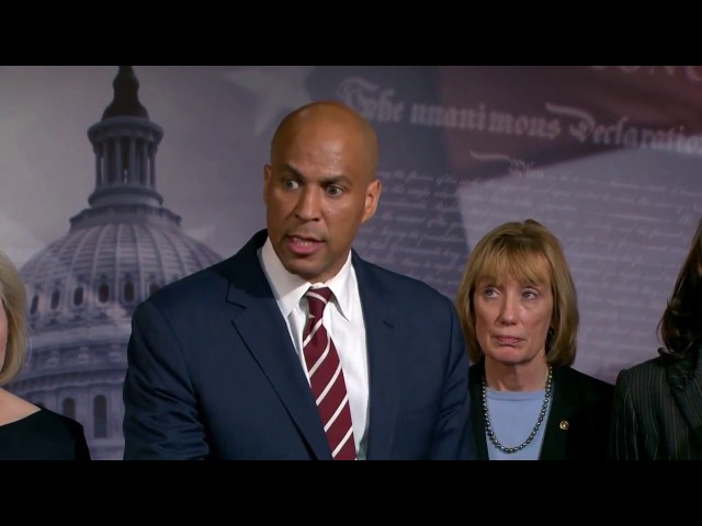 """Cory Booker on GOP Plan to Defund Planned Parenthood: """"we must stand up and fight"""""""