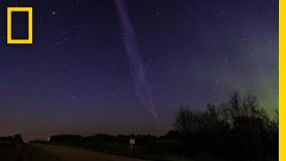 Purple Streak Named 'Steve' Is a Whole New Type of Aurora   National Geographic