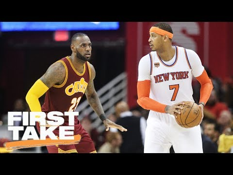 Stephen A. Thinks Carmelo Should Join Cavaliers | First Take | June 30, 2017
