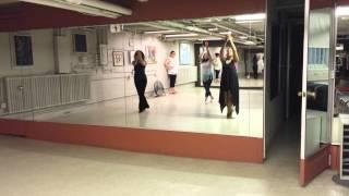 Radia's dance routine