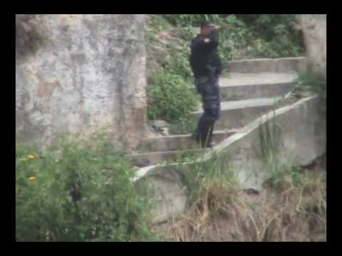 Operativo policial en San Agustin del Sur.