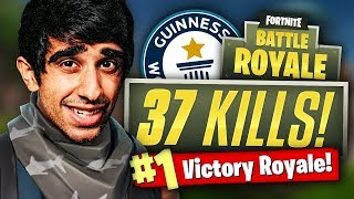 WORLDS FASTEST GAME! - 37 Kill Fortnite Battle Royale