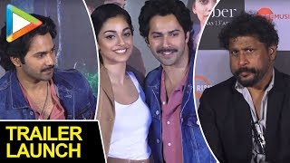 Trailer Launch Of October With Shoojit Sircar,Varun Dhawan And Banita Sandhu 02