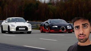 Bugatti vs Nissan GT-R !!!
