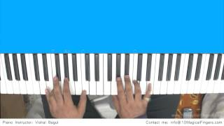 Tum Hi Ho (Aashique 2) Piano Tutorial by Vishal Bagul | Melody | Chords | Arpeggios