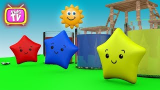 Learn Colors With Little super star for Children. Cartoons for children Toys for kids