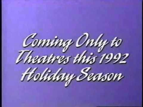 Coming Only to Theaters This 1992 Holiday Season WDHV VHS Bumper