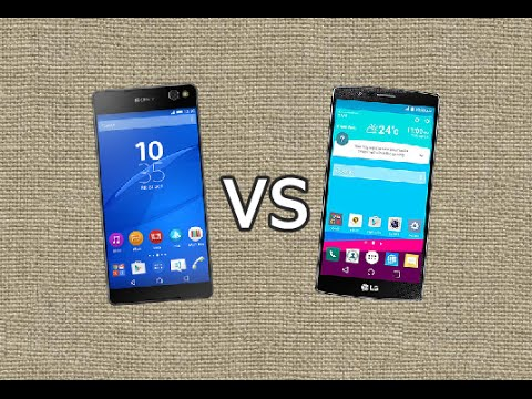 Sony Xperia C5 Ultra vs LG G4 - Quick Look
