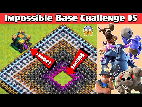 TOWN HALL 14 GIGA INFERNO IMPOSSIBLE BASE CHALLENGE 5 CLASH OF CLANS
