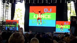DJ Lance Rock YO GABBA GABBA LIVE - Coachella 2010