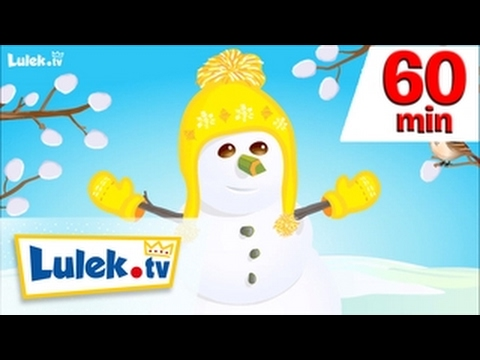 Bałwanek i wiosna I więcej piosenek dla dzieci I 60 minut z Lulek.tv