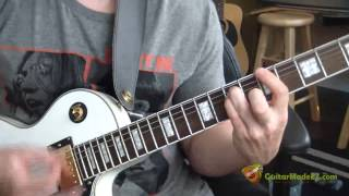 Sex Pistols - God Save The Queen - Guitar Lesson