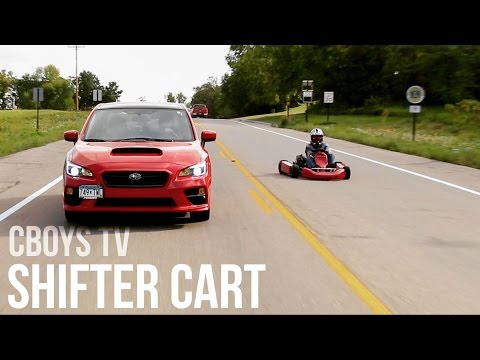 Shifter Kart on Highway; The Cops Were Looking For Us