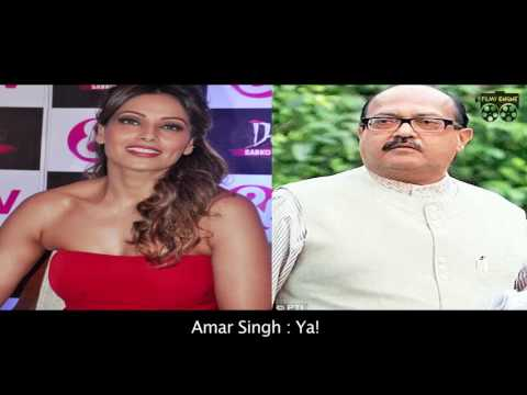 Bipasha Basu & Amar Singh Phone Sex