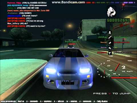 GTA SA Fast 3 4 Furious PART 2