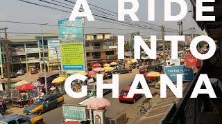 A Ride Into Ghana- KOFORIDUA