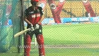 RCB team practice before match - IPL