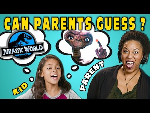 Can Parents Guess Movies Described By Kids 6 React