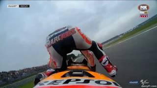accidentes de corredores de moto 3 , moto 2 y moto gp - deportes HD