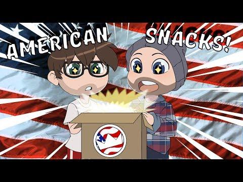Xxx Mp4 AMERICAN SNACKS English Lads Try American Food 3gp Sex