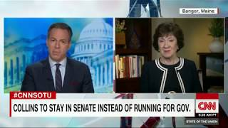 Susan Collins Full State of the Union interview