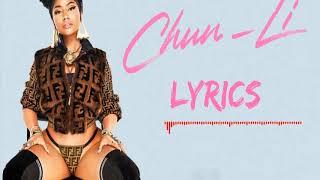 Nicki Minaj - Chun li ringtone   English ringtones