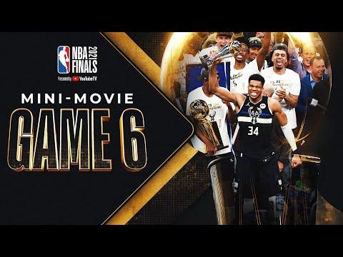 Bucks In 6 NBA Finals Game 6 MINI MOVIE 🏆⭐