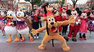 Mickey Avenue Chinese New Year Shanghai Swing - Shanghai Disneyland - Shanghai Disney Resort