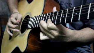Godhulir Opare Solo - Shunno - Acoustic Guitar Cover