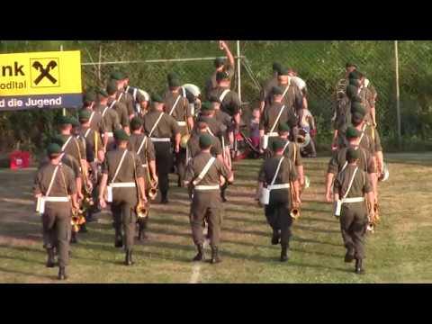 Rasenshow der Militärmusik OÖ in Zwettl